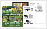 Landscaping Postcards LA1012