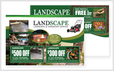 Landscaping Postcards LA1031
