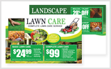 Landscaping Postcards LA1032