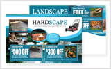 Landscaping Postcards LA1033