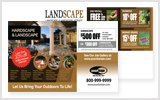 Landscaping Postcards LA1041